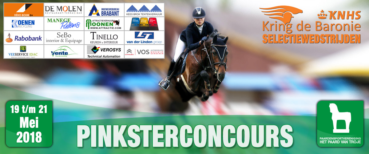 Pinksterconcours 2018