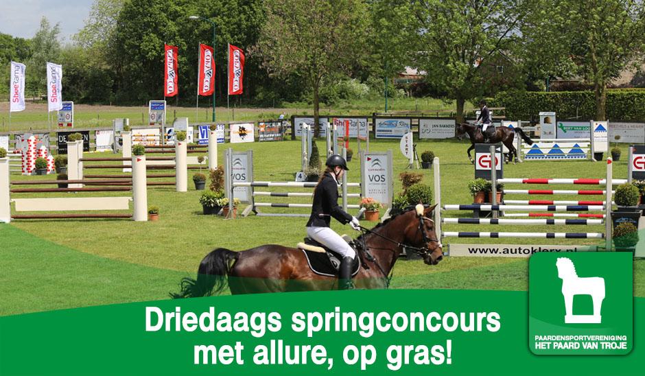 Driedaags springconcours met allure, op gras!